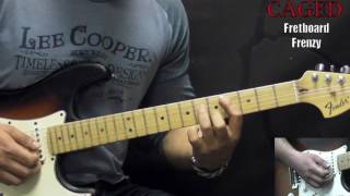 Jimi Hendrix All Along The Watchtower Rock Guitar Lesson W Tabs