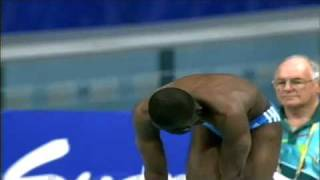 Eric Moussambani OLYMPIC 2000 SYDNEY SWIMMING (HIGH QUALITY)