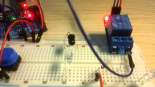 Датчик света, реле, светодиод, кнопка на Arduino(, 2015-04-27T22:31:22.000Z)