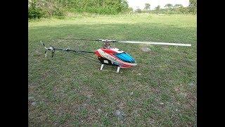T-REX760Xによる上空飛行。 スマホのデジタルズームで撮ってもらったの...