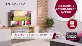 LG Full HD Smart TV LH604V Product Video