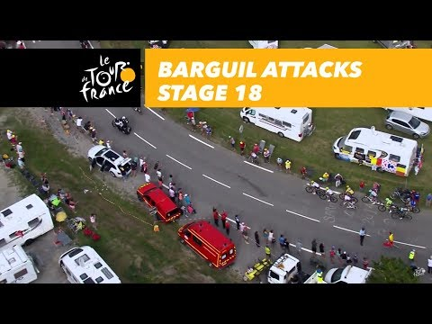 Barguil attacks - Stage 18  barguil