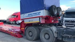 Обзор трал с передним заездом Спецприцеп 994293, 2018 г., 45 тонн