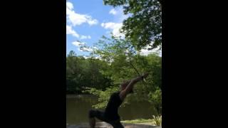 Yoga Mojo Flow   27APR15   Low Lunge, Side Angle, Half Moon