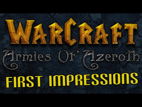 Armies of Azeroth: First Impressions and Gameplay (Warcraft 3 mod for Starcraft 2)