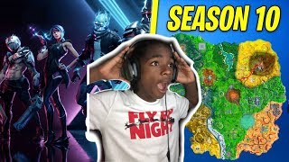 I Stayed Up All Night for Fortnite Season 10 - My First Reaction To FORTNITE SEASON X Battle Pass