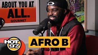 Afro B. Talks Success of 'Joanna' + History of AfroBeat + Gives Shaku Shaku Tutorial!