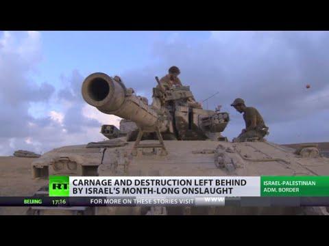 Deaths & Destruction:  Israel op leaves Gaza in ruins, no hope of long-term success