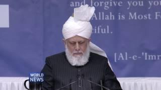 Hazrat Mirza Masroor Ahmad addresses Waqfe Nau Ijtemas in UK