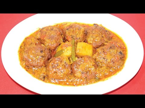 Kanch Kalar Kofta Curry - Traditional...