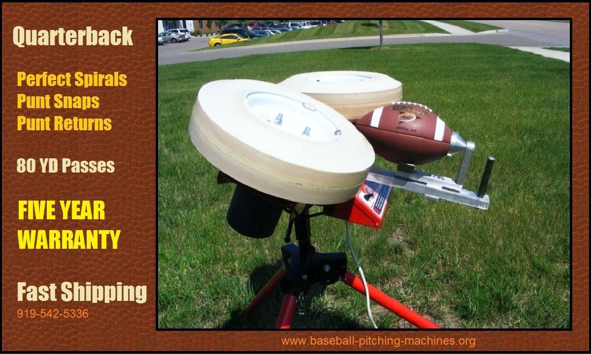 football shooting machine