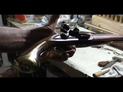 how to build a flintlock pistol
