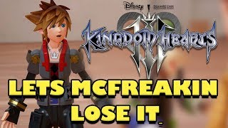 Kingdom Hearts 3 D23 Expo 2017 Trailer (REACTION/THOUGHTS)