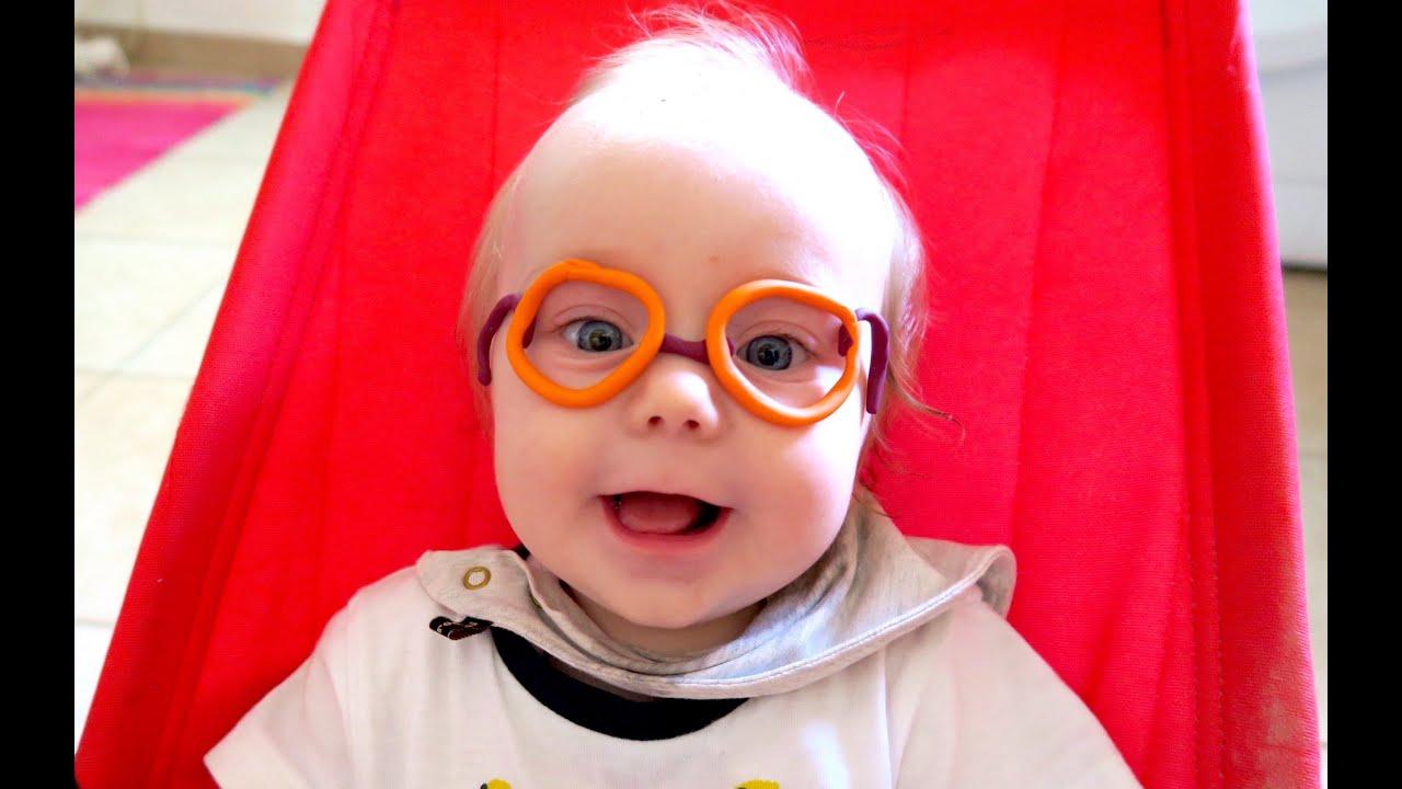 2004cb296e BABY NEEDS GLASSES! - YouTube