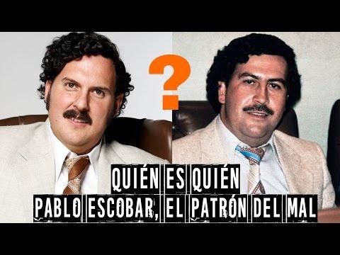 Quien es quien en El Patrón del mal - Pablo Escobar, Cartel de Medellín, Cartel de Cali