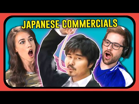 YOUTUBERS REACT TO JAPANESE COMMERCIALS (Long Long Man)