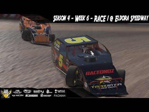 iRacing DIRTcar UMP Modifieds Week 6 Race 1 @ Eldora Speedway