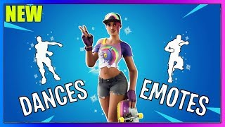 "SKIN ""TERROR OF PLAGES"" DANCES AND EMOTES (FLOSS - SCENARIO) ON FORTNITE!!"