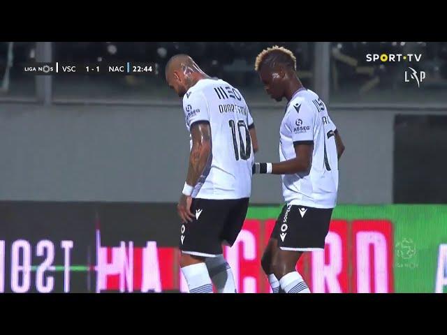 Goal | Golo Quaresma: Vitória SC (1)-1 CD Nacional (Liga 20/21 #12)