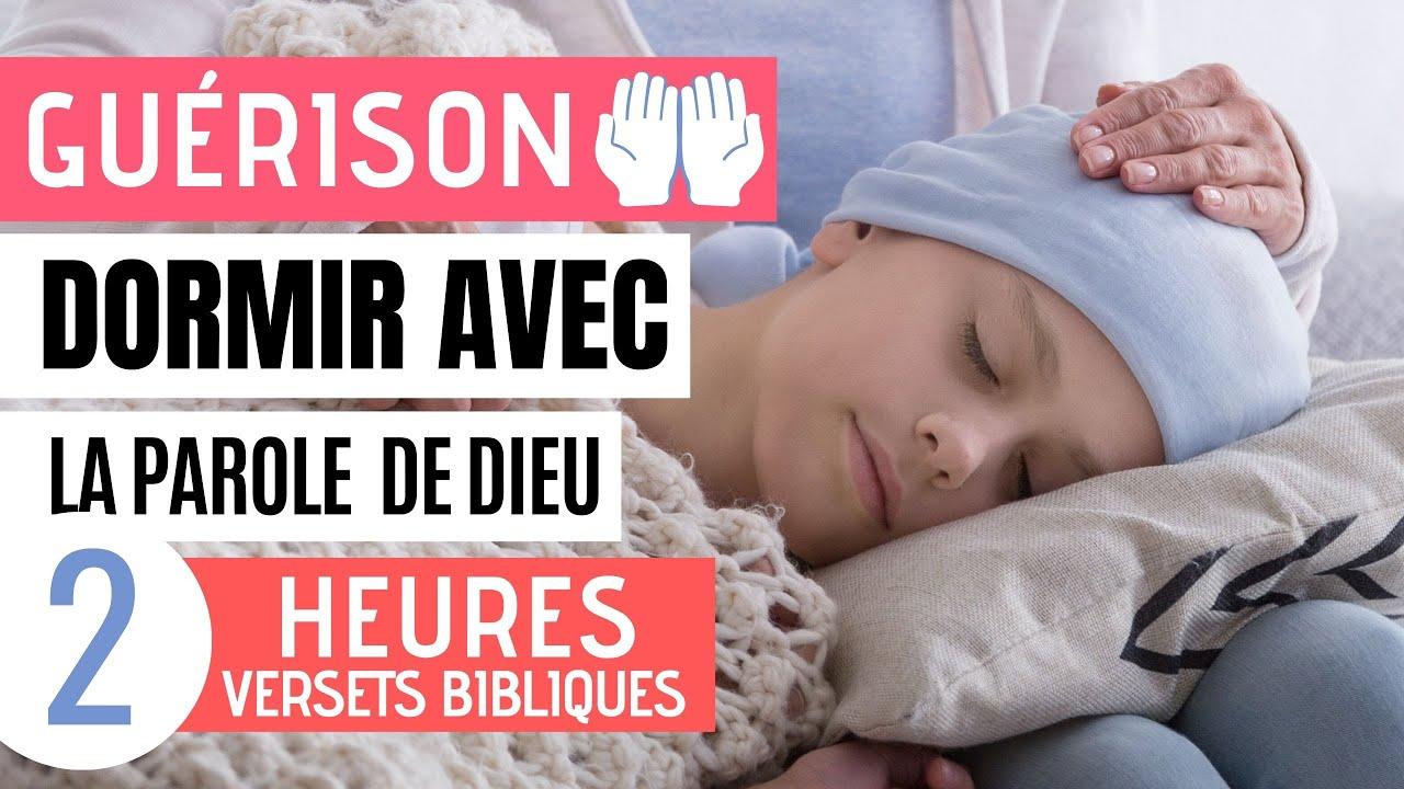 Versets Bibliques la Guérison - Scriptures pour Dormir avec sons de la Nature