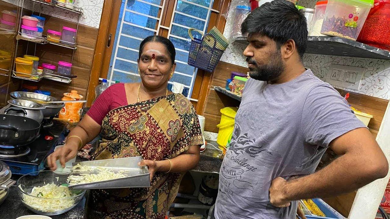 இவ்வளவு ஈசியாக அம்மா செஞ்சி குடுத்த வித்தியாசமான Evening Snacks 😋   Bloopers 😂   Amma Kai Pakkuvam