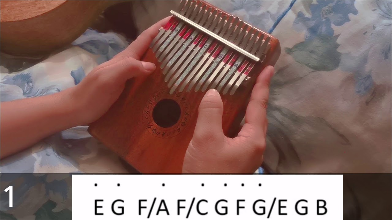 One Summer S Day Spirited Away Updated 5 14 2020 Kalimba Tabs Letter Number Notes Tutorial Kalimbatabs Net