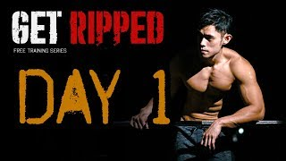 Get Ripped Series - Day 1 - Back Training