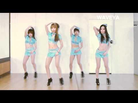 T-ARA 티아라 NUMBER NINE 넘버나인 cover dance WAVEYA 웨이브야 korea dance team