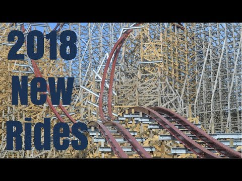 New Rides Opening in 2018 at Theme Parks across the USA