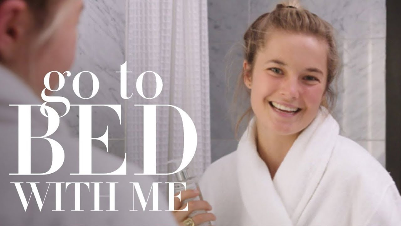Bridget Malcolm's Nighttime Skincare Routine | Go To Bed With Me | Harper's BAZAAR