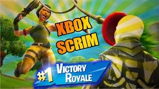 Xbox NA West Server Discord Scrim Victory! (Fortnite Battle Royale) - Tendai