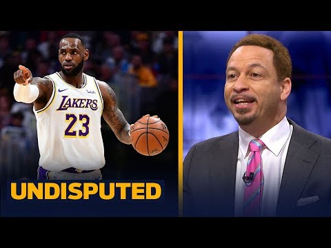 LeBron James is proving he's the best player in Los Angeles  Chris Broussard | NBA | UNDISPUTED