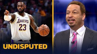 LeBron James is proving he's the best player in Los Angeles - Chris Broussard | NBA | UNDISPUTED