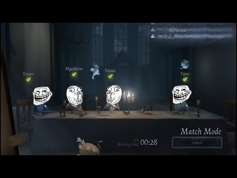 Playing Rank match with a team  - Identity V Gameplay