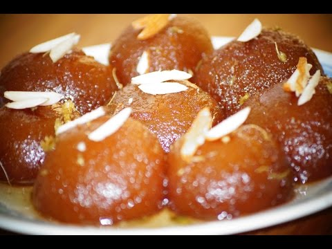gulab Jamun with khoya in telugu
