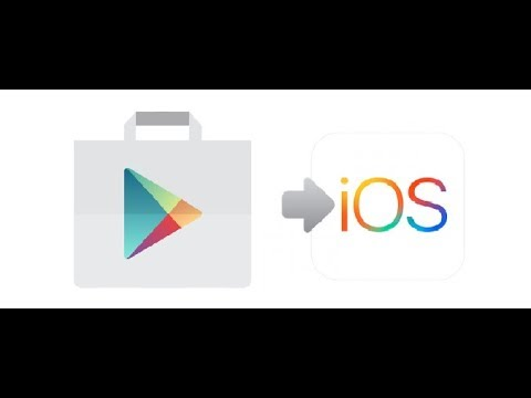 How to download google play store iphone