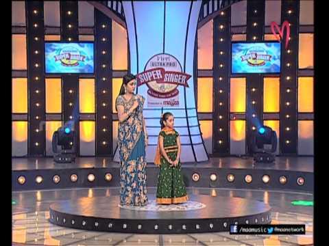 Super Singer 4 Episode 16 : Shanmukha Priya Singing Lalitha Priya Kamalam