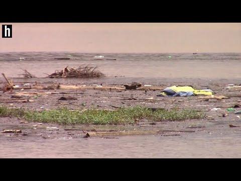Debris Flows Through Lake Wylie Amid Upstream Flooding