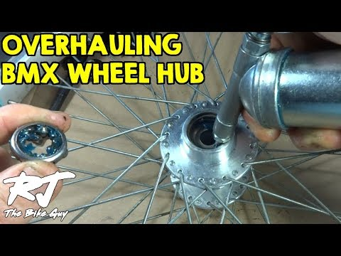 Overhaul Rear Wheel Hub Of BMX Bike