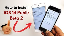 How to install iOS 14 Public Beta 2 in Hindi