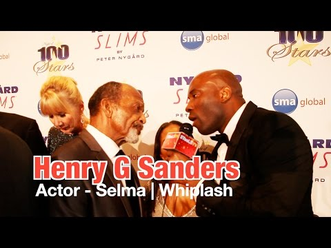 Henry G Sanders @ 2015 Oscars Night Of 100 Stars Viewing Party on STeeLE TV