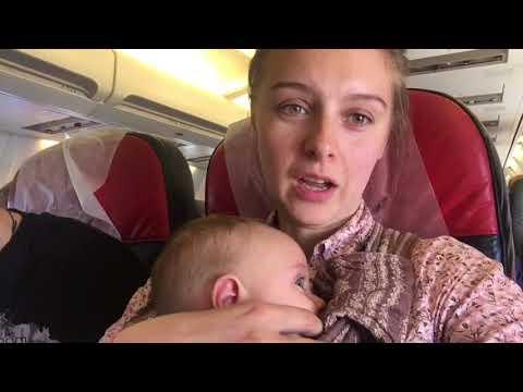 Путешествие с грудным ребенком на самолете