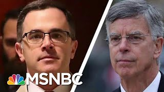 Exposed: Fmr Trump Aide Joins Witnesses Who Confirm Ukraine Quid Pro Quo Plot | MSNBC