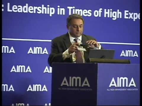 AIMA's National Management Convention 2015 - Session 2 part 1