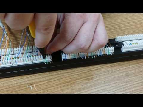 Как подключить патч панель