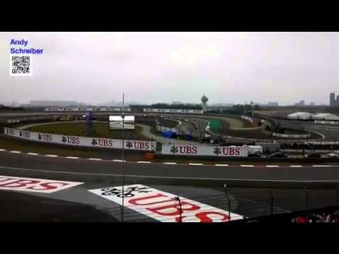 Formula 1 Start Shanghai 2014