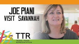 Jo Piani, Visit Savannah - TTR Travel Industry Road Show