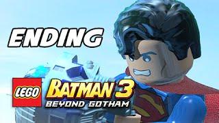 Lego Batman 3 Beyond Gotham Walkthrough Part 24 - ENDING + Final Boss (Lets Play Commentary)