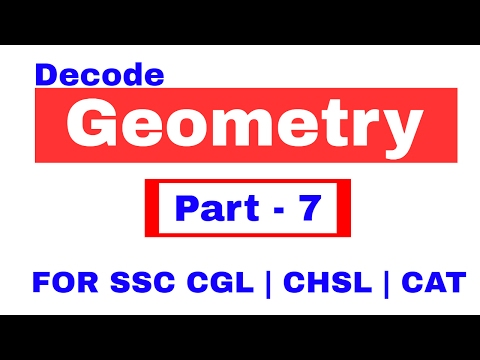 Geometry Problems on Equilateral Triangle For SSC CGL | CHSL | CAT | RRB [ In Hindi] Pat - 7