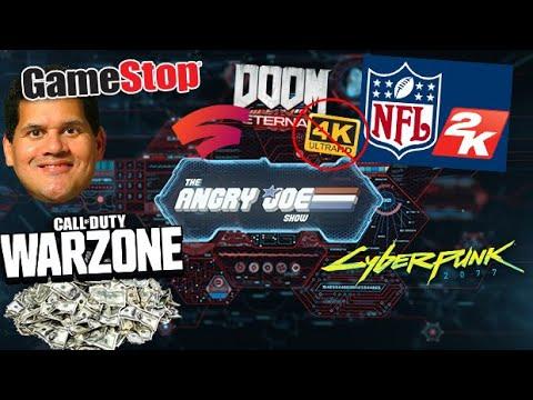 AJS News – 2K Football is Back!, COD at 15 Million, Reggie to Gamestop, Cyberpunk News, Stadia Doom!